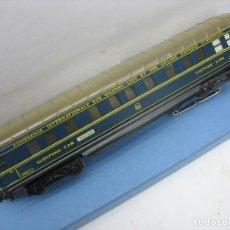 Trenes Escala: MARKLIN H0 VAGON LITS ANTIGUO METALICO 4011. Lote 134180918