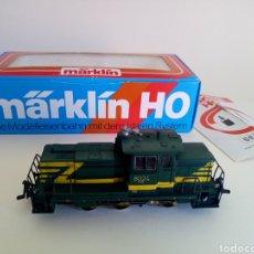 Trenes Escala: LOCOMOTORA TREN MARKLIN MÄRKLN 3149 H0 EN CAJA ORIGINAL FUNCIONANDO. Lote 135414129
