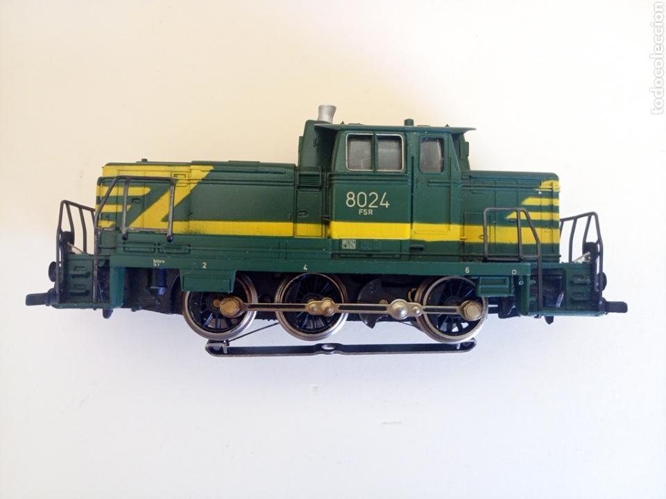 Trenes Escala: Locomotora tren marklin märkln 3149 H0 en caja original funcionando - Foto 2 - 135414129