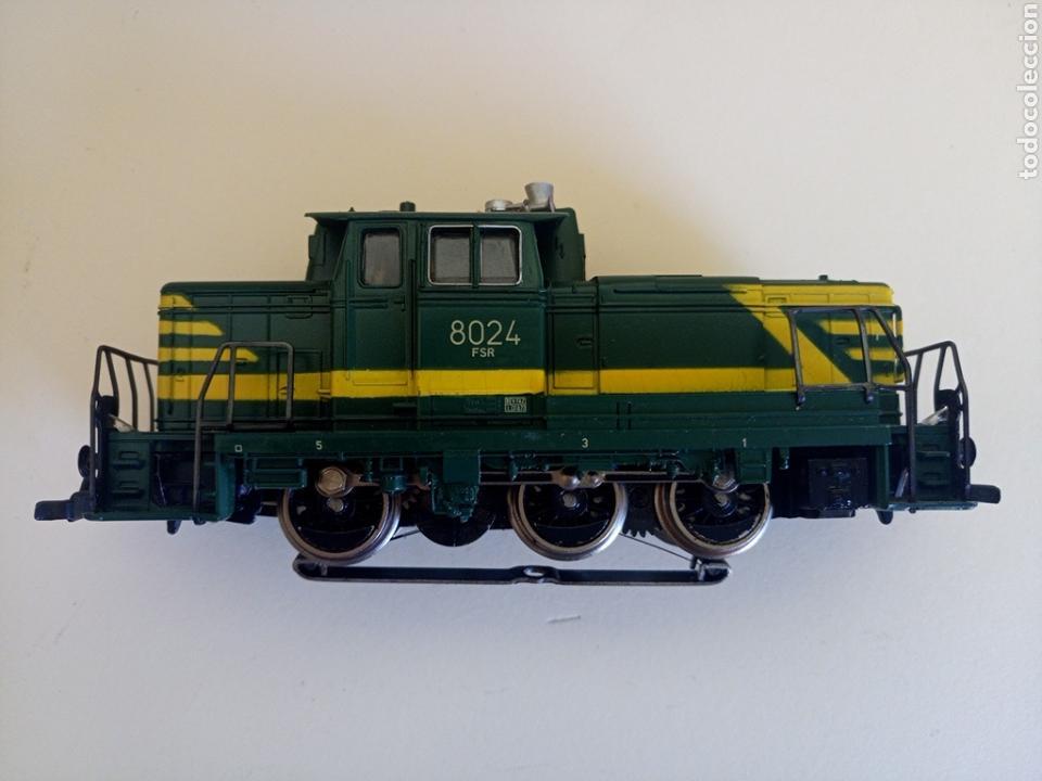 Trenes Escala: Locomotora tren marklin märkln 3149 H0 en caja original funcionando - Foto 3 - 135414129