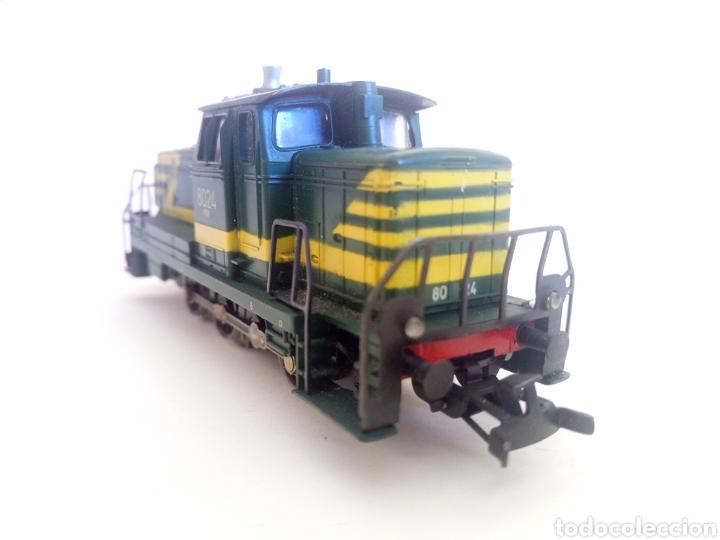 Trenes Escala: Locomotora tren marklin märkln 3149 H0 en caja original funcionando - Foto 7 - 135414129