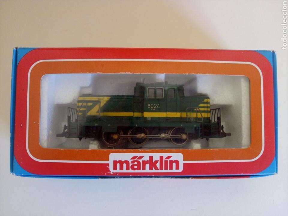 Trenes Escala: Locomotora tren marklin märkln 3149 H0 en caja original funcionando - Foto 11 - 135414129