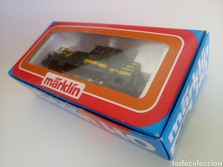Trenes Escala: Locomotora tren marklin märkln 3149 H0 en caja original funcionando - Foto 12 - 135414129