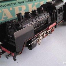 Trenes Escala: MARKLIN H0 LOCOMOTORA VAPOR CON TENDER. EN CAJA ORIGINAL. FUNCIONA.. Lote 136243942