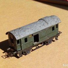 Trenes Escala: MÄRKLIN H0 328 FURGÓN DE EQUIPAJES AÑOS 40. Lote 137428526