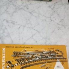 Trenes Escala: MARKLIN REF 5207 CRUCE ELECTRICO. Lote 137978034