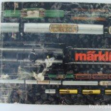 Trenes Escala: CATALOGO MARKLIN, 1979, CON TARIFA PRECIOS,. Lote 138640706