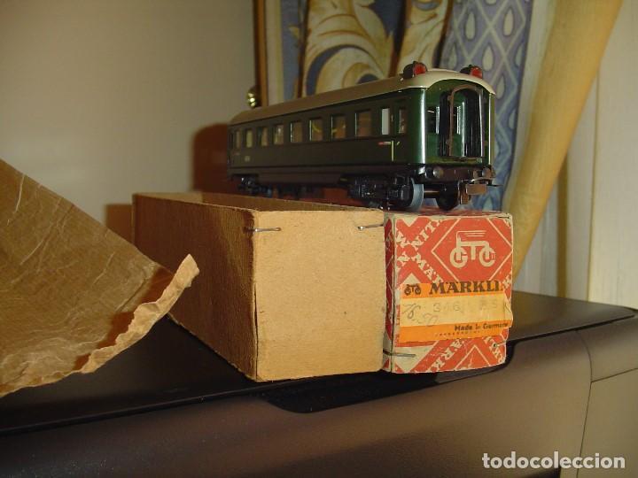 MARKLIN. VAGÓN PASAJEROS 346/1 (4007), CON LUCES DE COLA. 1ª CLASE. (Juguetes - Trenes a Escala - Marklin H0)