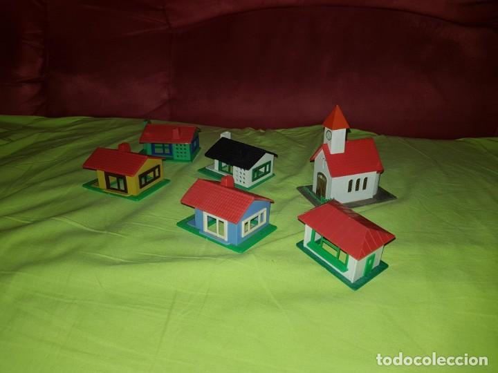 Trenes Escala: Lote de casitas para maqueta de tren. - Foto 3 - 138999258