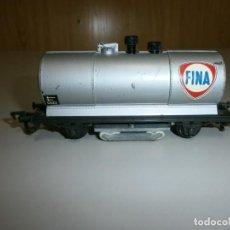 Trenes Escala: VAGON MARKLIN H0 AÑOS 60 TODO DE METAL. Lote 139082162