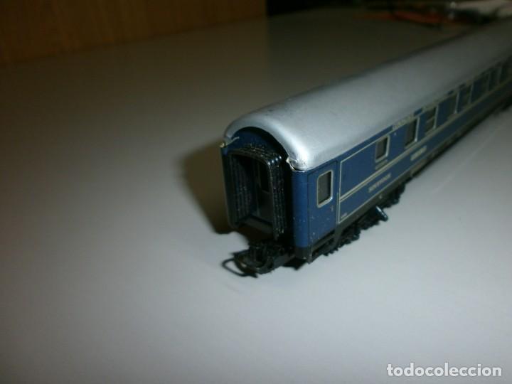 Trenes Escala: vagon marklin h0 años 60 todo de metal - Foto 2 - 139082330