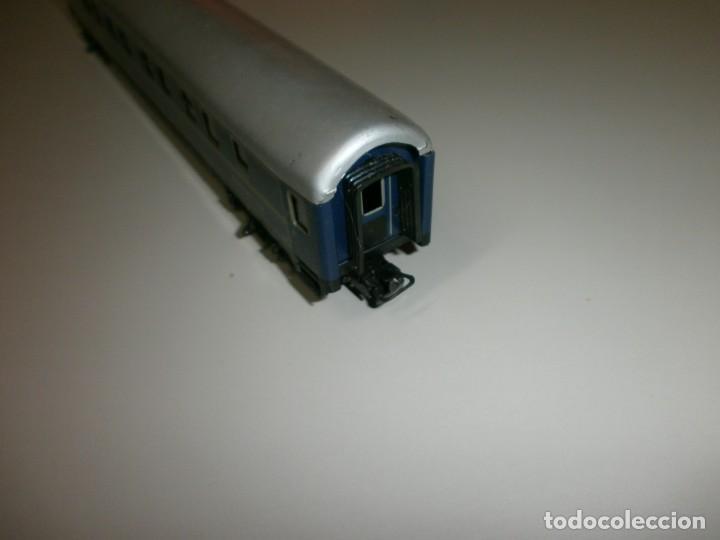 Trenes Escala: vagon marklin h0 años 60 todo de metal - Foto 3 - 139082330