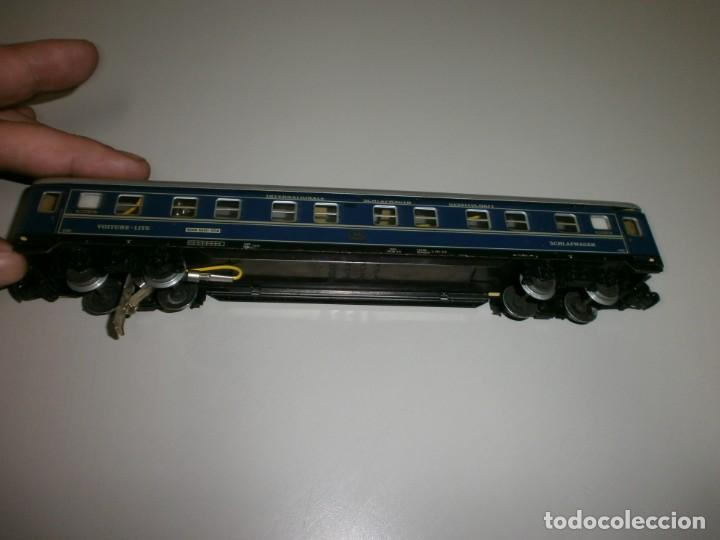 Trenes Escala: vagon marklin h0 años 60 todo de metal - Foto 4 - 139082330