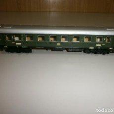 Trenes Escala: VAGON MARKLIN H0 AÑOS 60 TODO DE METAL. Lote 139082602