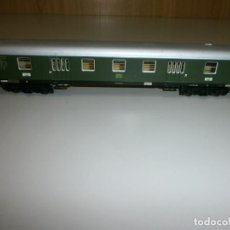 Trenes Escala: VAGON MARKLIN H0 AÑOS 60 TODO DE METAL. Lote 139082810
