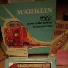 Trenes Escala: MARKLIN H0 COMPOSICIÓN DEL TREN AUTOMOTOR TEE REFERENCIA 30 70. Lote 139457844