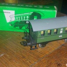 Trenes Escala: VAGON MARKLIN MODELO 4000 ESCALA H0 METÁLICO NUEVO EN SU CAJA. Lote 139485993