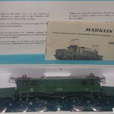 Trenes Escala: LOCOMOTORA MARKLIN H0 REFERENCIA 3022 EN SU CAJA ORIGINAL Y CON PROSPECTO PERFECTO ESTADO. Lote 139497322