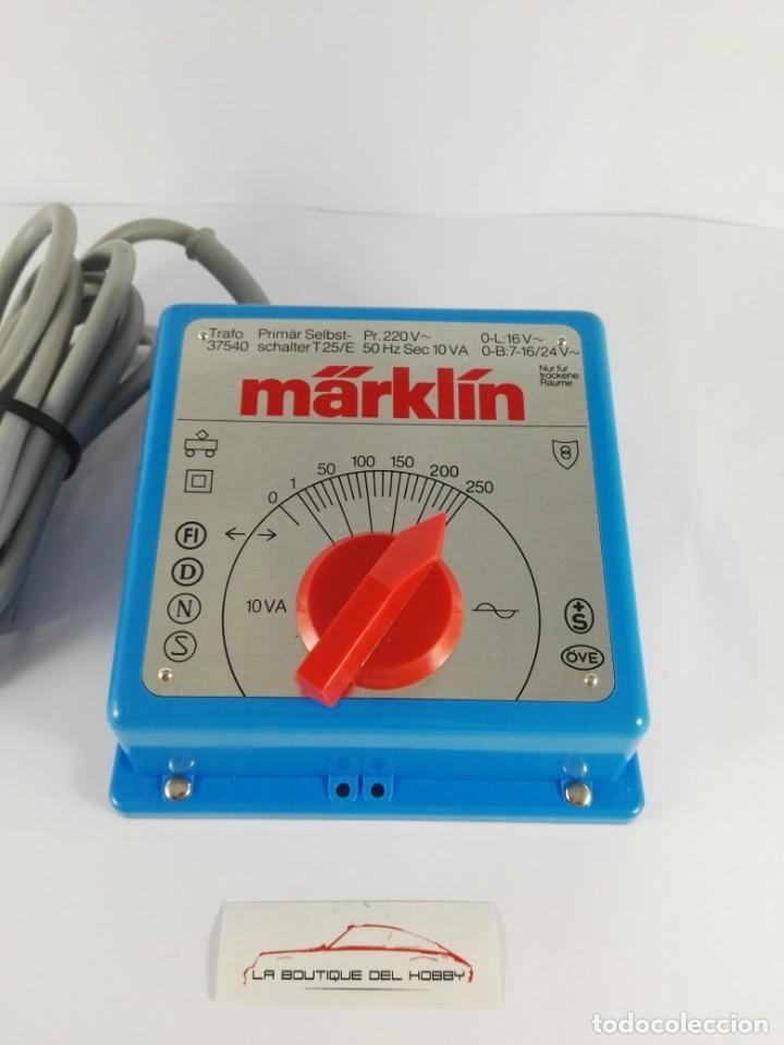 TRANSFORMADOR MARKLIN 37540 PARA MAQUETA DE TREN (Juguetes - Trenes a Escala - Marklin H0)