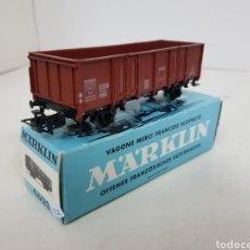 Trenes Escala: MARKLIN 4623 ESCALA H0 ALTERNA VAGÓN DE MERCANCÍAS BACHMANN 11CMS DE LA SNCF FRANCESA. Lote 140380544