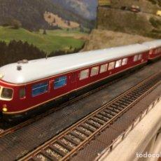 Trenes Escala: MÄRKLIN KATO AUTOMOTOR ETA176/ESA176. Lote 140974545