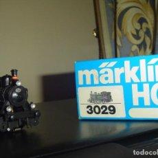 Trenes Escala: MARKLIN H0. PEQUEÑA LOCOMOTORA VAPOR DE LA DSB. Lote 141469686