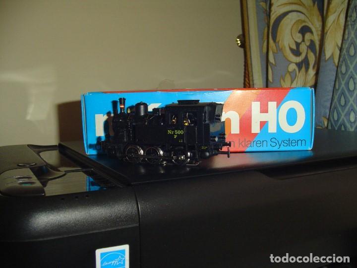 Trenes Escala: Marklin H0. Pequeña locomotora vapor de la DSB - Foto 2 - 141469686