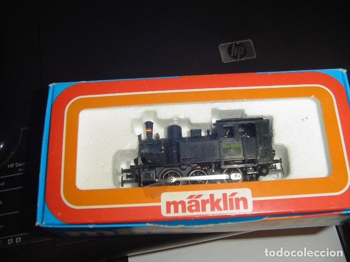 Trenes Escala: Marklin H0. Pequeña locomotora vapor de la DSB - Foto 5 - 141469686