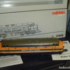 Trains Échelle: MARKLIN H0. LOCOMOTORA DIESEL DE LA GREAT NORTHERR.RARA. Lote 141470518