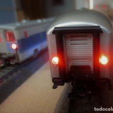Trenes Escala: TRES KITS PARA INSTALACION LUZ DE COLA VAGONES H0 - TT - N. Lote 152677005