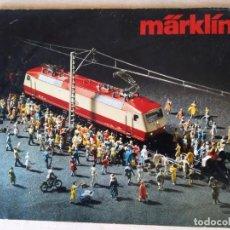 Trenes Escala: CATALOGO MÄRKLÍN AÑO 1980. Lote 143784982