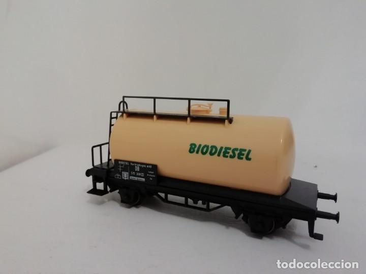 Trenes Escala: Marklin H0 Vagón Cisterna BIODIESEL Kesselwagen NUEVO OVP - Foto 2 - 145099374