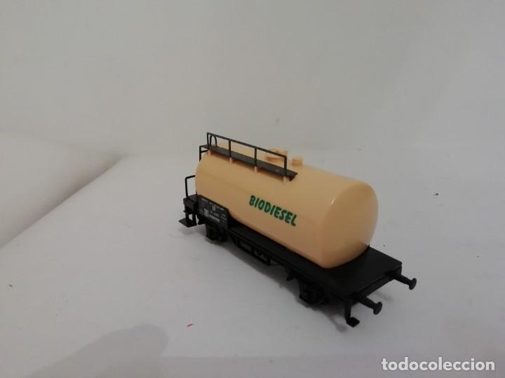 Trenes Escala: Marklin H0 Vagón Cisterna BIODIESEL Kesselwagen NUEVO OVP - Foto 3 - 145099374