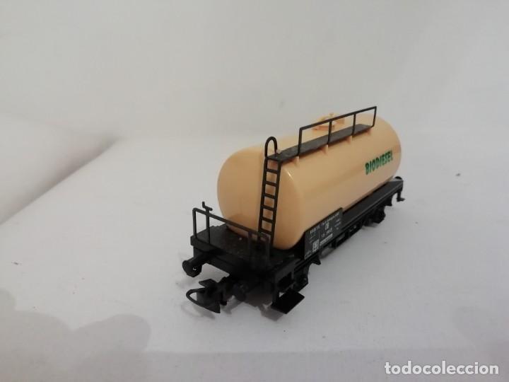 Trenes Escala: Marklin H0 Vagón Cisterna BIODIESEL Kesselwagen NUEVO OVP - Foto 4 - 145099374