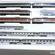 Trenes Escala: MARKLIN 43919- FOTO 767- SET DE 5 COCHES VIAJEROS,ENGANCHES CORTOS. Lote 146253634