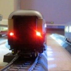 Trenes Escala: KIT MONTAJE LUZ DE COLA CONMUTABLE, VAGONES H0 - TT - N,. Lote 215696842