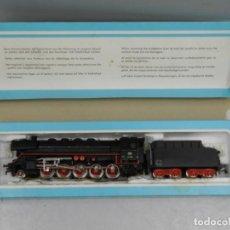 Trenes Escala: MARKLIN - 3047 - LOCOMOTORA CON TENDER 44690 - AÑOS 70. Lote 146962378