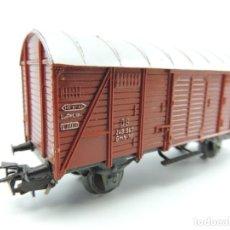 Trenes Escala: MARKLIN - VAGÓN DE MERCANCÍAS CERRADO DE LA DB 248 847 - ESCALA H0. Lote 146962778