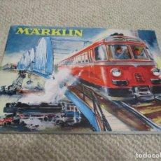 Trenes Escala: GRAN LOTE DE FOLLETOS DE TRENES MARKLIN, EN TOTAL 25 FOLLETOS DIVERSOS, VER FOTOS, TREN, FERROCARRIL. Lote 147430938