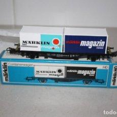 Trenes Escala: ANTIGUO A ESTRENAR VAGÓN MARKLIN. AÑO 1990. Lote 147572614
