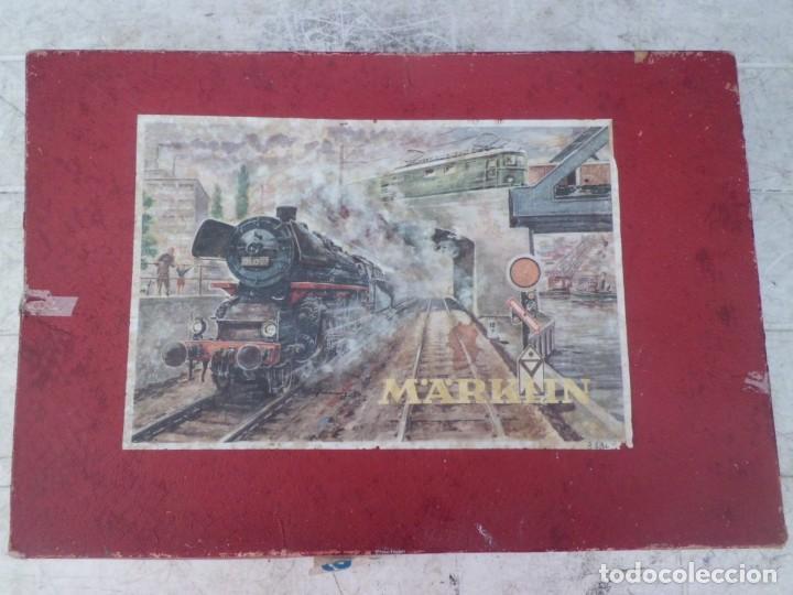 TREN MARKLIN HO AÑOS 60, CAJA ORIGINAL (Toys - Trains H0 Scale - Marklin H0)