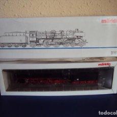 Trenes Escala: (JU-190156)MARKLIN 337 MAQUINA DE VAPOR SERIE 03-2202-4 DR SPUR HO OVP. Lote 147846542