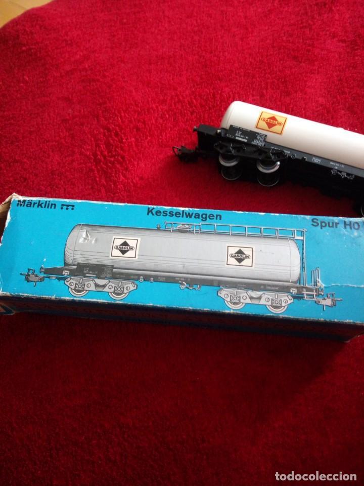 Trenes Escala: Vagón gasolina Marklin 4648. h0 - Foto 5 - 150617450