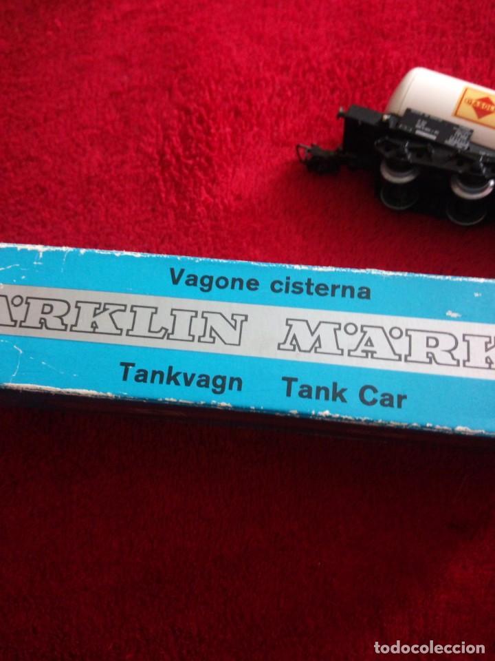 Trenes Escala: Vagón gasolina Marklin 4648. h0 - Foto 6 - 150617450