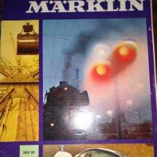 Comboios Escala: CATALOGO DE TREN MARKLIN, 1969 - 66, PAG . Lote 150646742