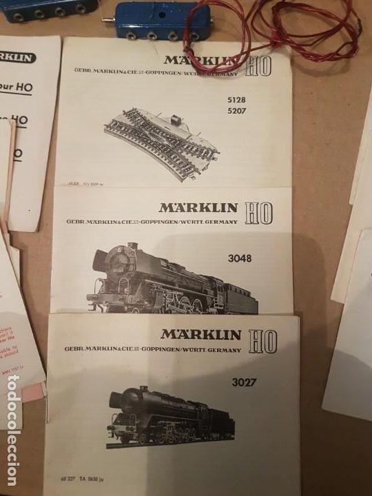 Trenes Escala: Lote de varias piezas instrucciones y controladores marklin - Foto 2 - 152541638