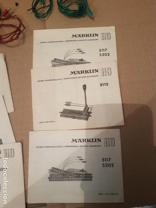 Trenes Escala: Lote de varias piezas instrucciones y controladores marklin - Foto 3 - 152541638