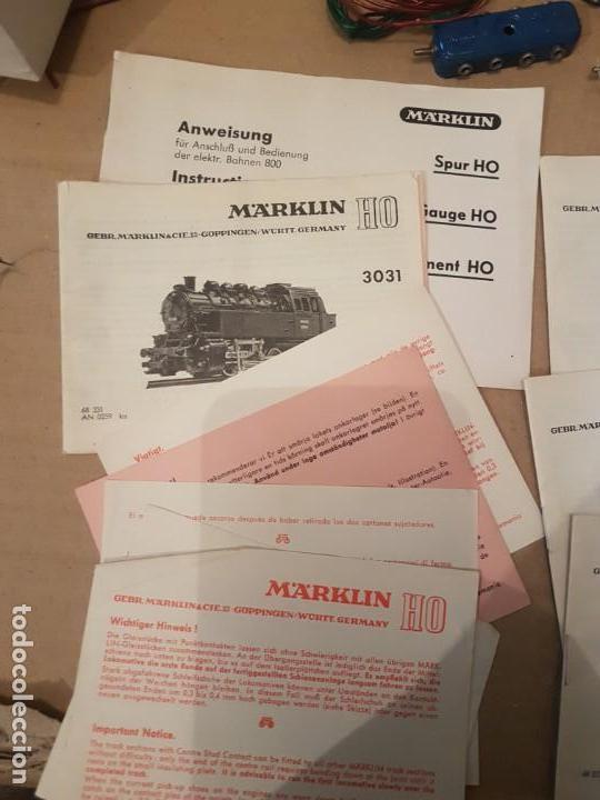 Trenes Escala: Lote de varias piezas instrucciones y controladores marklin - Foto 4 - 152541638