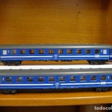 Trenes Escala: MARKLIN H0 SET DE 2 COCHES DE VIAJEROS DEL *TEGERNSEE BAHN* REFERENCIA 42892.. Lote 155708538