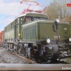 Trenes Escala: CATALOGO DE NOVEDADES MARKLIN AÑO 2014. Lote 156523878
